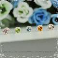◆まとめ買い対象◆在庫限り◆天然石 一粒ピアス(ペア)【SE001】