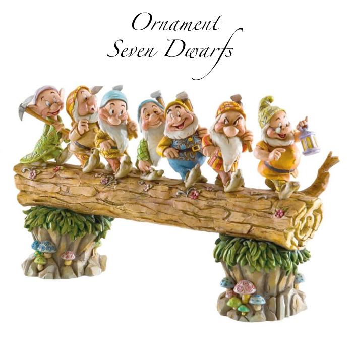 白雪姫 七人のこびと グッズ 置物 Disney Traditions 誕生日 プレゼント ディズニー グッズ フィギュア 置物 ホームワード バウンド 七人の小人 返品交換不可