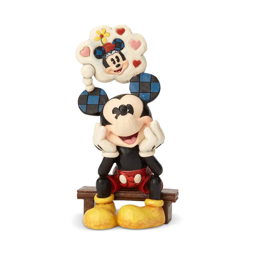ミッキー シンキング オブ ユー ディズニー グッズ 置物 Disney Traditions 誕生日 プレゼント ディズニー グッズ フィギュア 置物  ディズニー 動物  置物 ギフト 返品交換不可