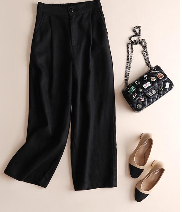 レディース ボトムス パンツ ワイドパンツ ズボン 黒 韓国 可愛い かっこいい ボトムス 大人 レディース 春 衣装 返品交換不可 エンジェルローブヴィセ ヴィセ visee YY004