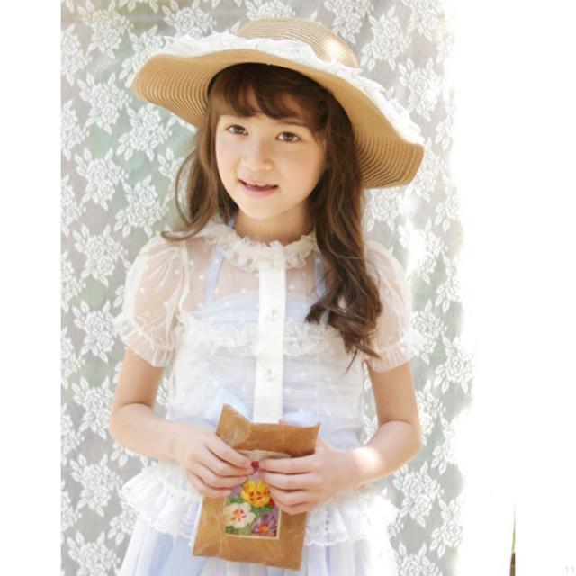 50%オフ レースカーディガン ラブリーな羽織物は1枚あるととっても便利♪返品交換ラッピングは出来かねます 女の子 子供服