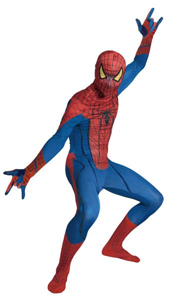【送料無料】【ルービーズ社】アメージングスパイダーマンコスチューム クリスマス コスプレ コスチューム The Amazing Spider Man For Adult