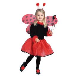ルービーズ社製 Pretty Ladybug テントウムシさんドレス ハロウィンにぴったり クリスマス コスプレ コスチューム 可愛く目立っちゃおう!ハロウィン 衣装 子供 クリスマス 衣装 子供 パーティー 発表会キッズドレス