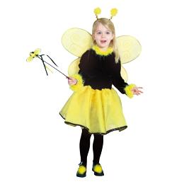 ルービーズ社製 Pretty HoneyBee ミツバチさんドレス ハロウィンにぴったり クリスマス コスプレ コスチューム 可愛く目立っちゃおう!ハロウィン 衣装 子供 クリスマス 衣装 子供 パーティー 発表会キッズドレス