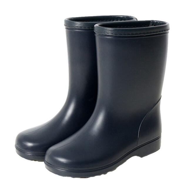 子供 長靴 濃紺 レインブーツ 男女兼用 長靴 梅雨対策 ゲリラ豪雨 大雨 子ども用長靴 通園 通学 キッズ レインシューズ 受験 お受験