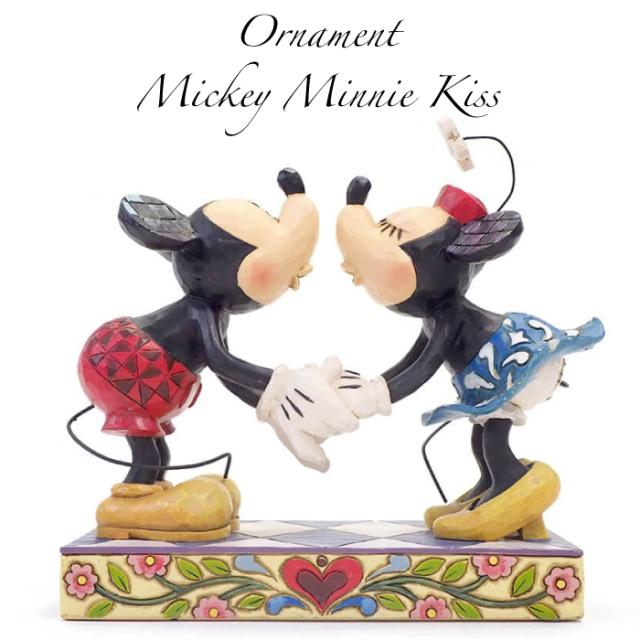 ミッキー&ミニー キス グッズ 置物 Disney Traditions 誕生日 プレゼント ディズニー グッズ フィギュア 置物 ミッキーマウス ミニーマウス  返品交換不可