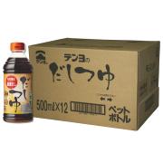 だしつゆ(濃縮4倍) 500ml×12本 【ケース割引】