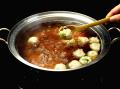 【送料無料】天山の京風ちゃんこ鍋用だし&豚肉つくねセット