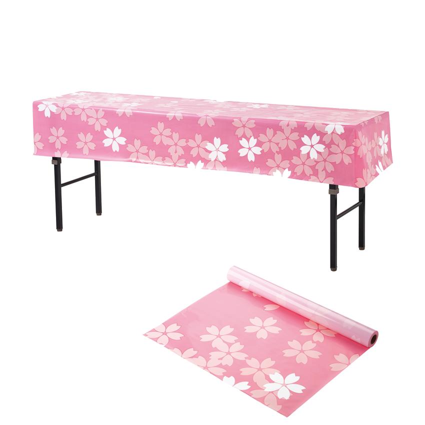 桜柄 ビニール幕