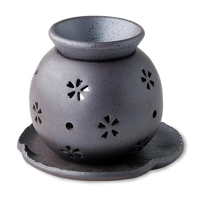 茶香炉 盛正・桜すかし