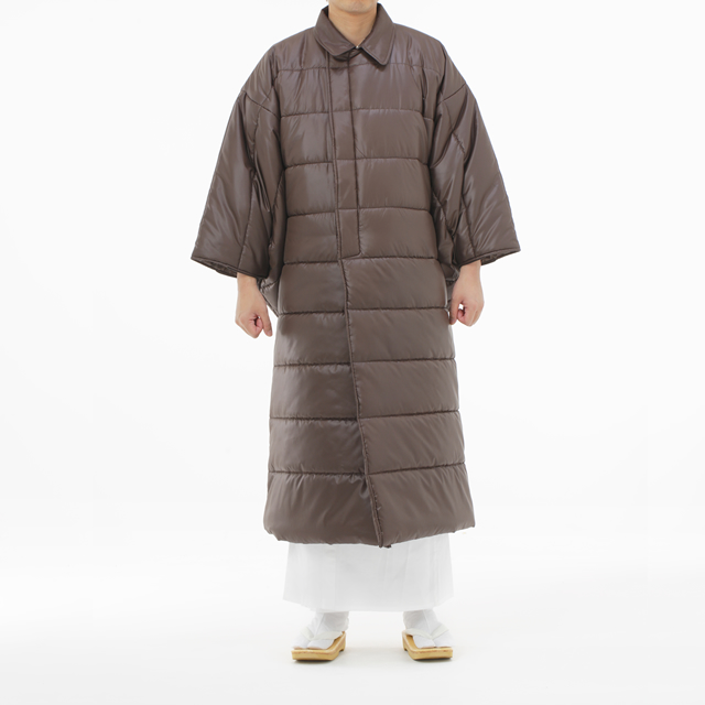 綿入り 大型コート