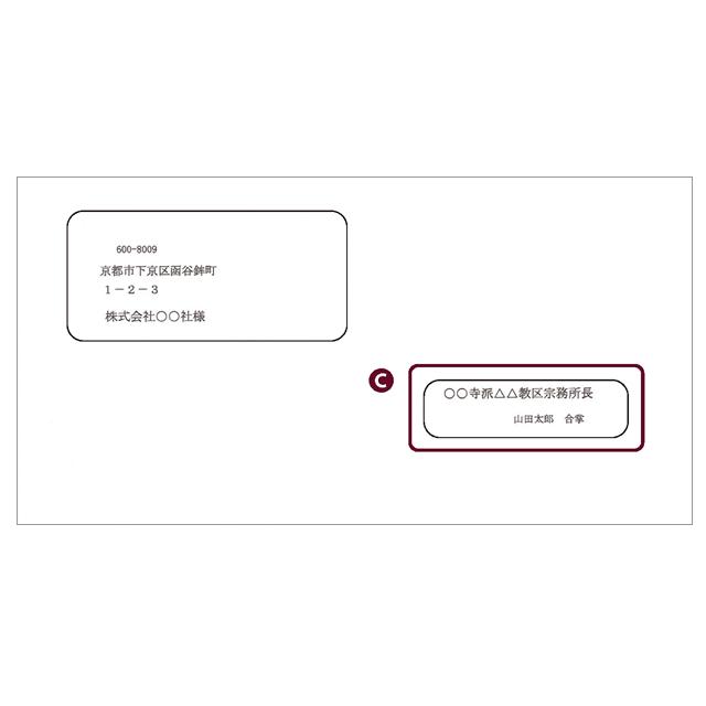 専用窓封筒[窓2 長3サイズ]