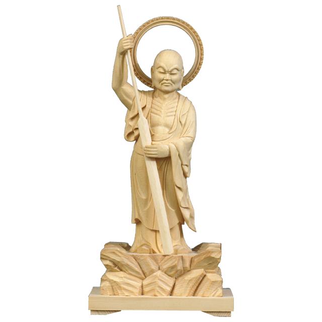 木彫 禅宗尊像 跋陀婆羅尊者