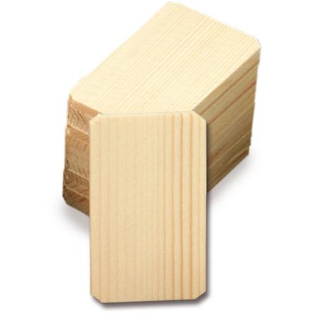 内符用 木札 〈無地板〉 100体1組