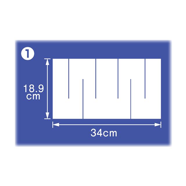 御幣紙 18.9cm×34cm