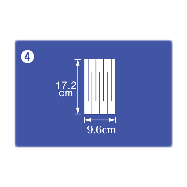 御幣紙 17.2cm×9.6cm