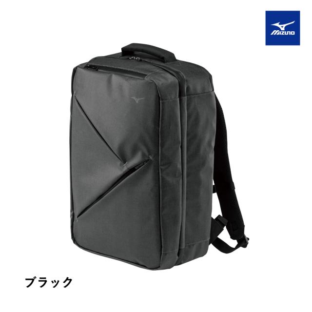 【MIZUNO】トラベルバックパック 28L ブラック