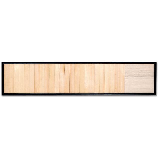 木製 寄付額 〈黒枠〉