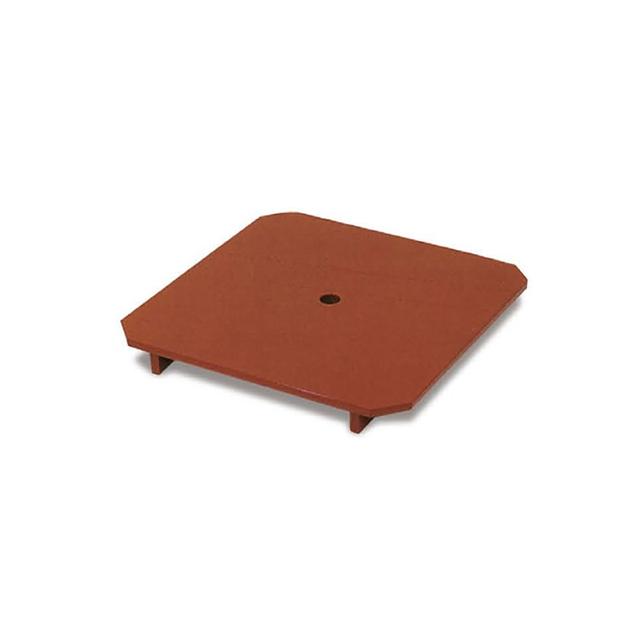 木製下須板 スベラーズ加工・寸法:22cm角×高さ3cm(三宝8寸用)