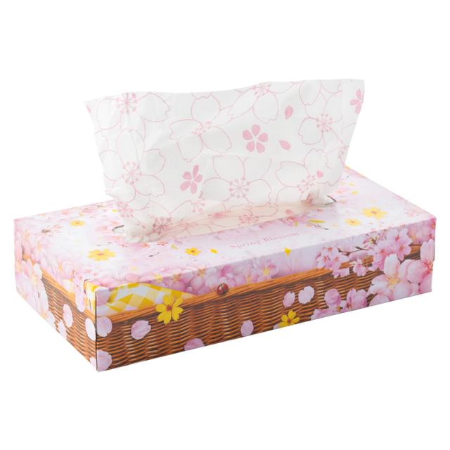 桜ティッシュ