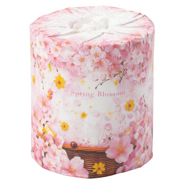桜トイレットペーパー