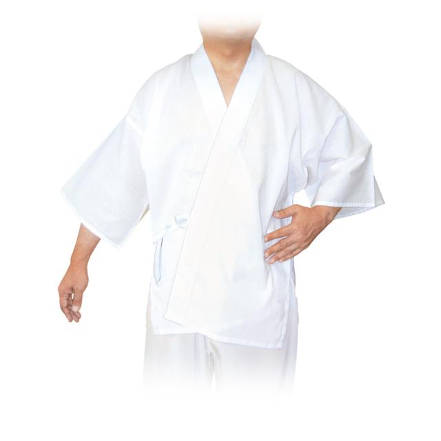 夏用 筒袖 綿クレープ 半襦袢