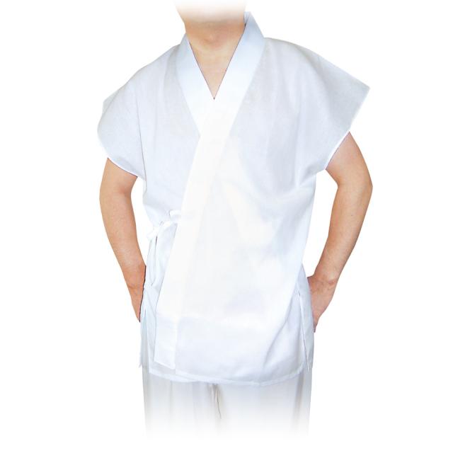 夏用 袖なし 綿クレープ 半襦袢