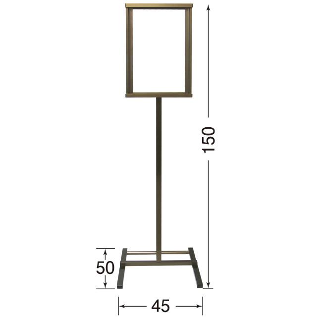52045 アルミ製 寺院表示板 外置専用型