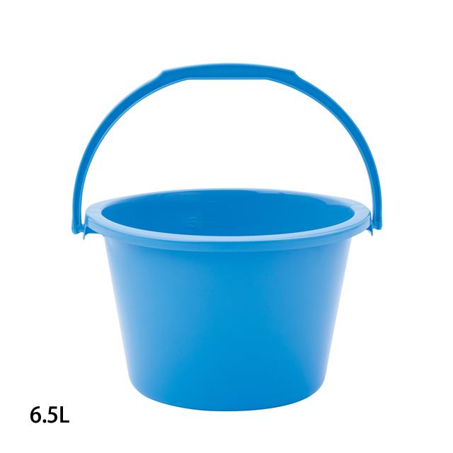 樹脂製 青バケツ 6.5L