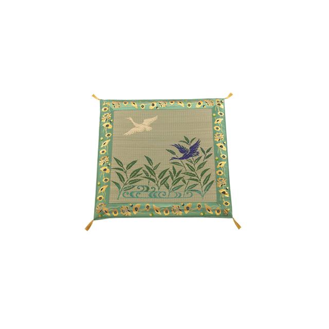 特選品 夏用 高級座布団 雁 (約70cm×70cm)