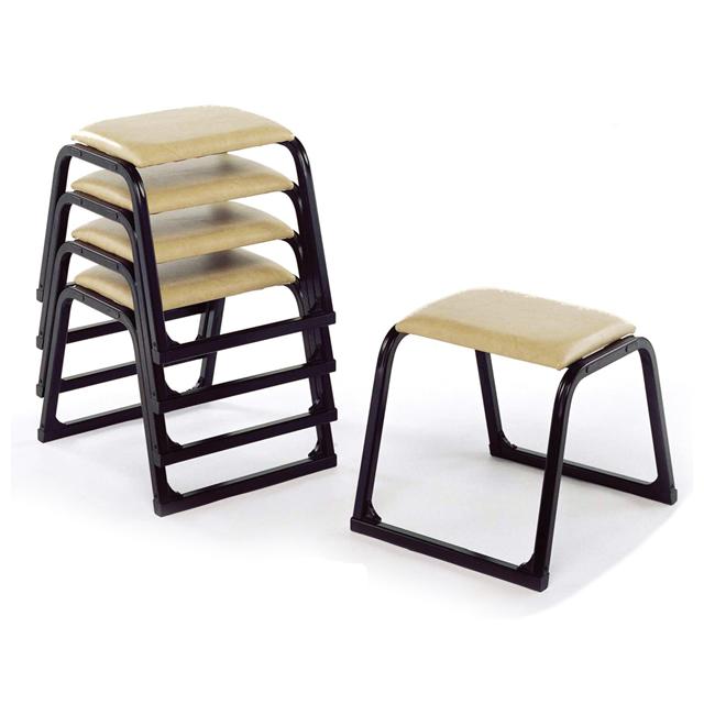 アルミ製 本堂用 椅子 背もたれなし