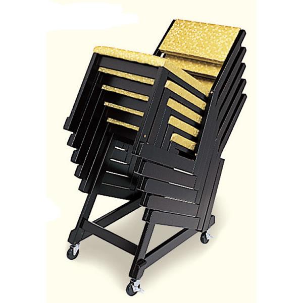 本堂用 木製 お詣り椅子専用台車