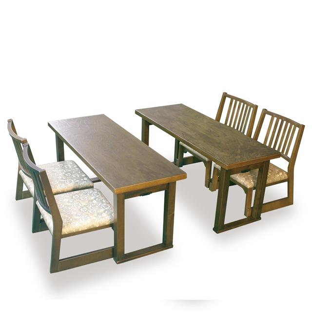 折りたたみ式 集宴机 4尺幅・木製背付き椅子