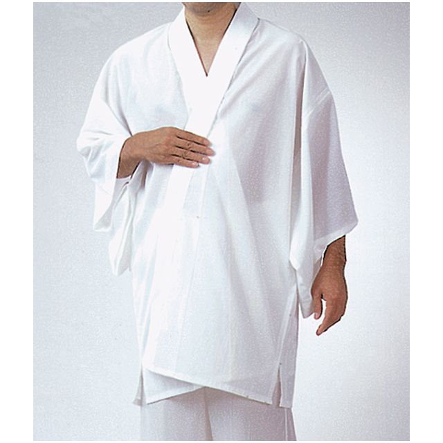 半衿付 ウール混半襦袢 ロング丈LL寸 1枚
