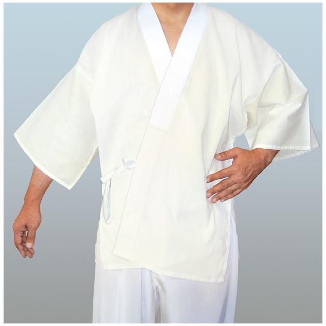 筒袖 ウールモス 半襦袢 (ひも付き) 普通丈