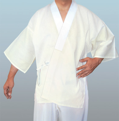 筒袖ウールモス 半襦袢・普通丈