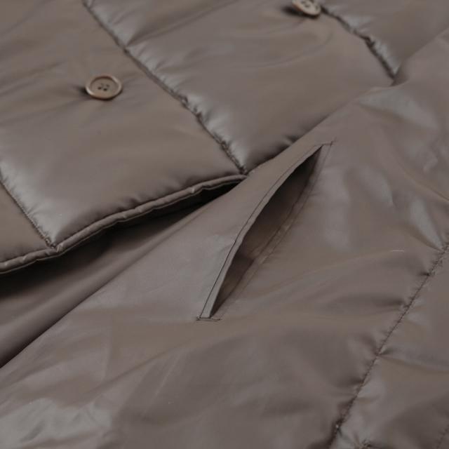 綿入り 大型コート 中ポケット