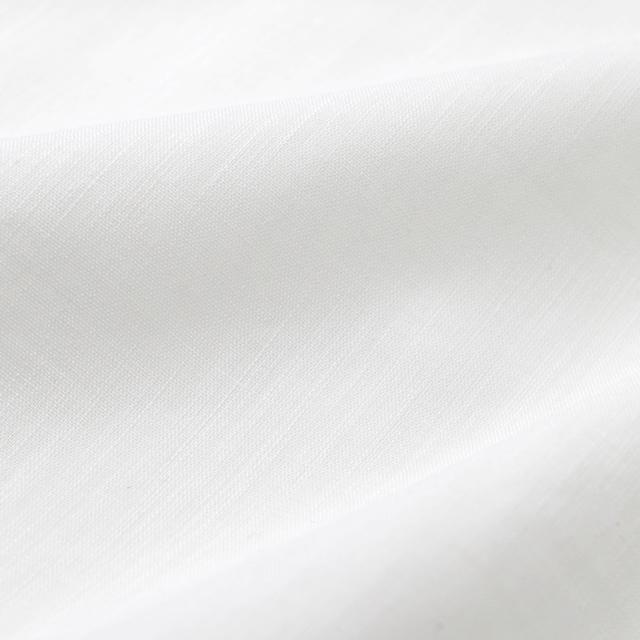 夏用 綿麻 コンコン白衣