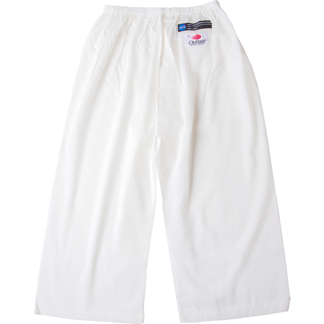 通年用 アウトラスト 温度調節素材 白衣下〈裾さばき〉