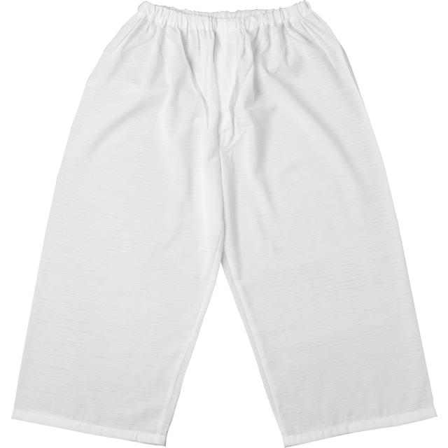 夏用 バンブー複合繊維 爽竹 白衣下〈裾さばき〉