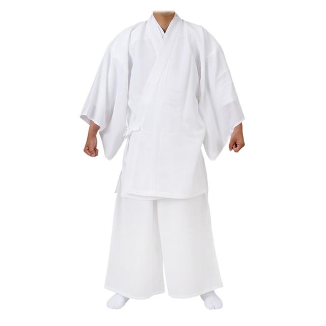 冬用 二部式御白衣 〈ウール混あたたか〉