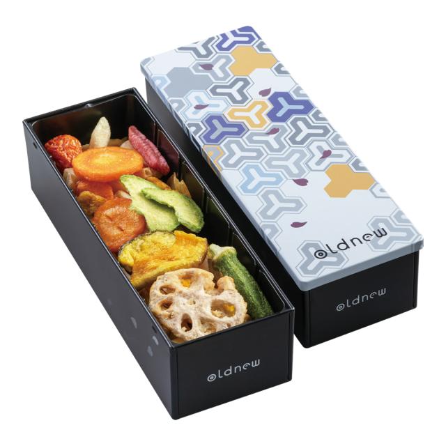 彩 -野菜- 毘沙門柄箱