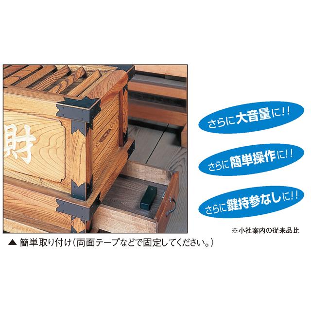 新・賽銭箱警報器使用例
