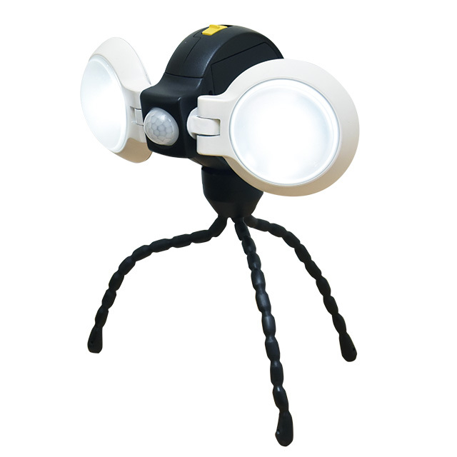LEDどこでもセンサーライト ダブル ASL-092