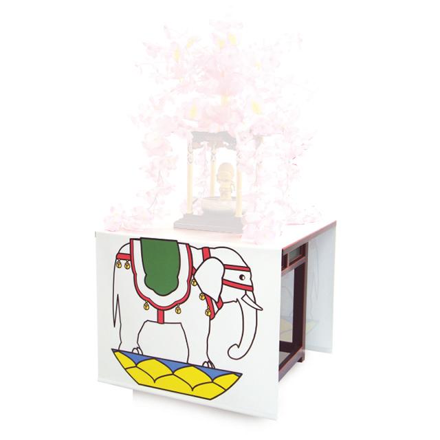 花まつり 白象幕