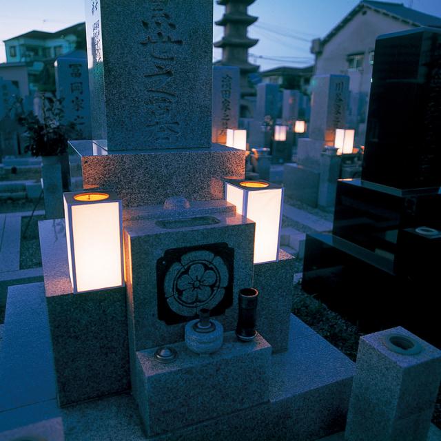 新・墓参灯籠本体