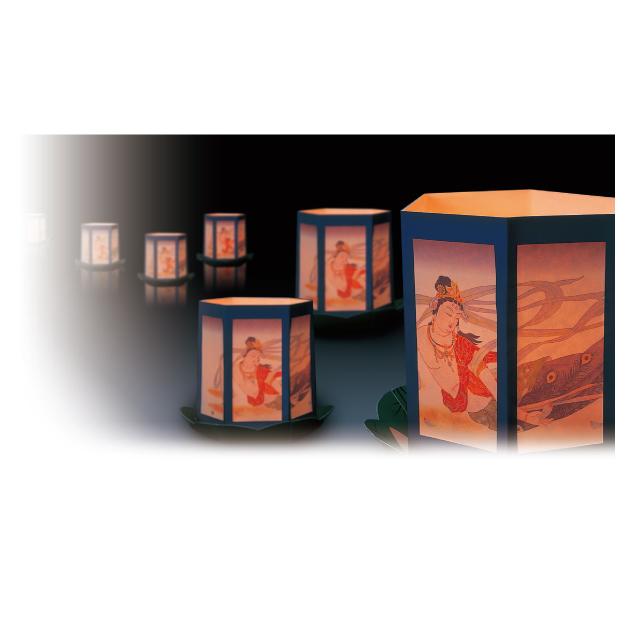 流し灯籠イメージ