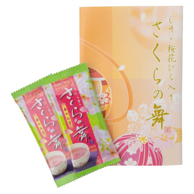 しそ入り桜花びら茶 さくらの舞
