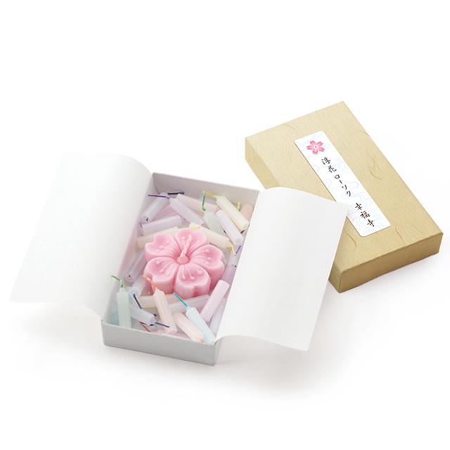 浮花 ローソク小箱