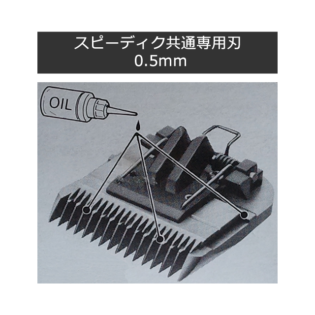 別売:スピーディク共通専用刃 0.5mm